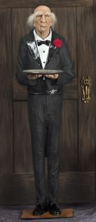 Dobson The Butler Animated Life Size Prop Made in The USA Halloween