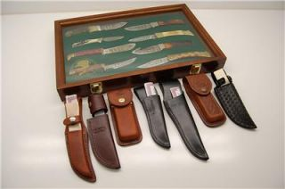 North American Hunting Club Hunting Heritage Knife Set . These knives