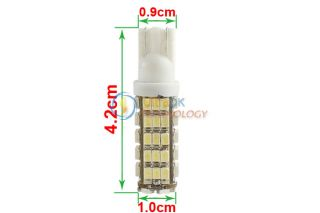 2X Car T10 168 194 Pure White 68 SMD LED Auto Side Indicator Light