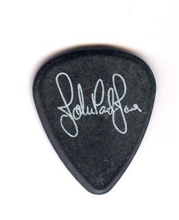 WOW RARE ACTUAL GUITAR PICK   JOHN PAUL JONES LED ZEPPELIN TOUR PICK