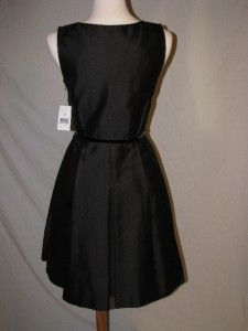 Kate Spade Dabney Embellished Black Dress 2 Silk Cotton