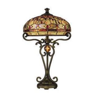 Dale Tiffany Dragonfly Table Lamp TT10095