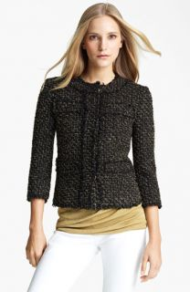 Michael Kors Metallic Tweed Jacket