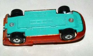 1969 Lesney Matchbox Superfast Ford GT Orange with Green Base Mint in