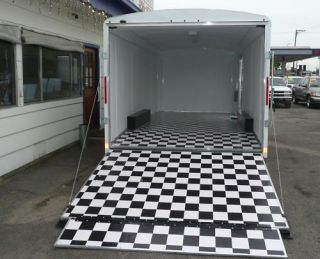 LOOK 2012 Enclosed Race Car Trailer Custom Interior Racecar Hauler