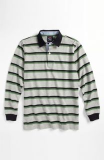 Brooks Brothers Double Stripe Rugby Shirt (Big Boys)