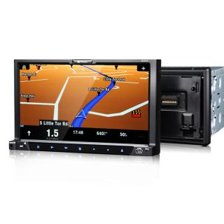 G2223A 7 in Dash LCD Monitor 2Din Car GPS Navigation iPod USB DVD