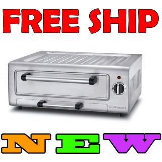 Brand New Cuisinart Piz 100 Stainless Steel 12 Electric Pizza Oven