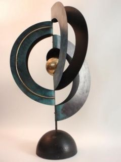 Amazing Large Curtis Jere Free Standing Abstract Modern Art Sculpture