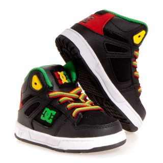 DC Shoes Rebound Hi Leather Skate Casual Skate Infant Toddler Baby