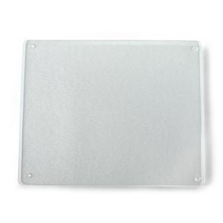 Large 16x20 Clear Tempered Glass Kitchen Cutting Board
