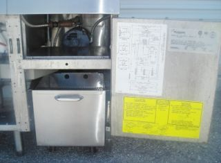 Deep Fryer Frymaster Gas Footprint Filter 2 Baskets Dump Station w IR