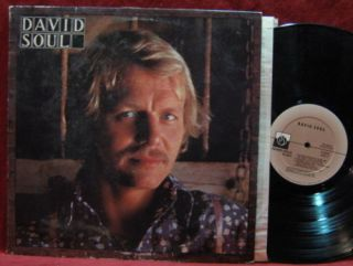 David Soul Self Titled 1976 Vinyl LP Record Album Starsky and Hutch