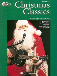 Christmas Classics EZ Guitar Song Book Notes Tab New