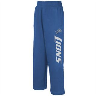 Detroit Lions Kids 4 7 Blue NFL Fleece Pant