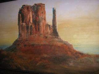 don hansell original oil sw monument valley