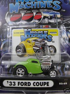 Muscle Machines  33 Ford Coupe 1 64 Diecast Car