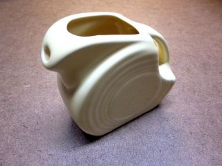 Fiestaware Small Mini Yellow Milk Pitcher Ceramic Fiesta Dinnerware