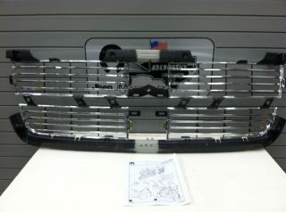 2010 2011 2012 Dodge RAM 2500 3500 4500 5500 New Chrome Grill Insert