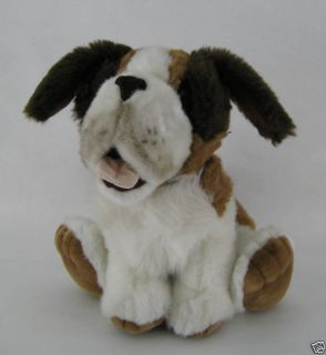 People Pals Plush Stuffed Animal St Bernard Dog Puppy