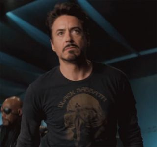 Sabbath T Shirt Vtg Tony Stark The Avengers Robert Downey Jr 01