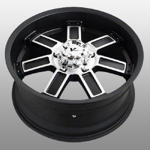18 inch V Rock Diesel Black Wheels Rims 6x5 5 4 Runner FJ Cruiser