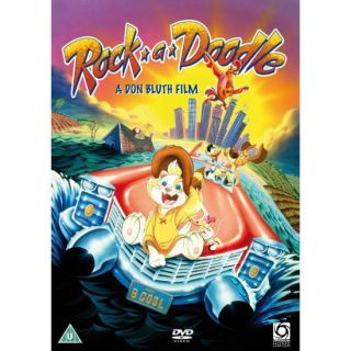Rock A Doodle New PAL Kids Family DVD Don Bluth