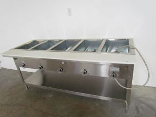 Duke Hot Food Table 5 Well 72 3 8 Length Electric Aerohot Model E305