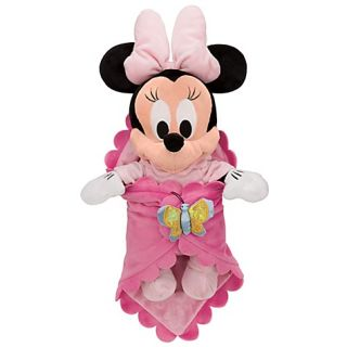 Disneys Babies Minnie Mouse Plush Doll and Personalized Blanket