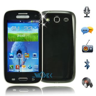 Dual Sim Unlocked Resistive Touch Screen Quad Bands Mobile Phone Cell