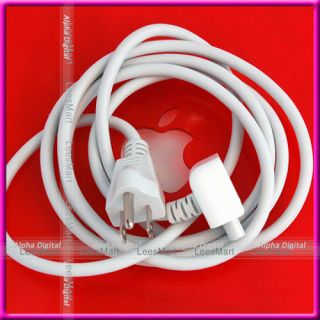 US AC Extension Cord Cable Plug for Apple MacBook Pro