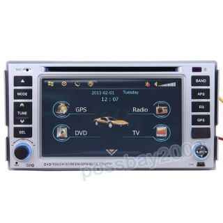 Hyundai Santa FE Car GPS Navigation System DVD Player