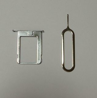 Micro Sim Card Tray for iPhone 4 4S at T Ejector Pin Tool