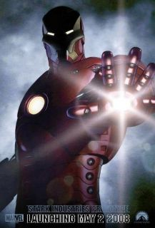 13x20 Promo Iron Man Poster Robert Downey Jr 2008 Movie Avengers