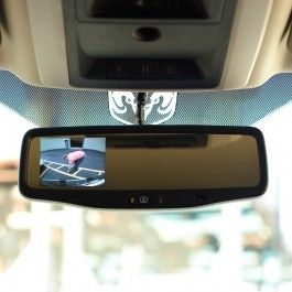 Dodge RAM 2009 2011 Rear View Back Up Camera Mirror Monitor Complete