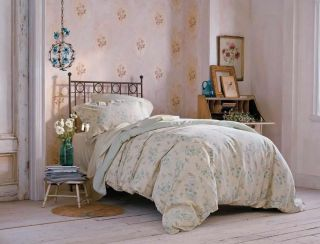 Simply Shabby Chic Garden Duvet Set Full Queen 4 Shams