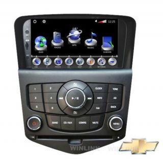Chevrolet Cruze Car GPS Navigation System DVD Player