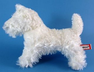 Douglas The Cuddle Toy Shaggy Plush Terrier Puppy Dog Stuffed