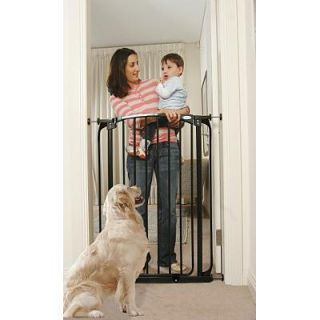 Dream Baby Extra Tall Swing Closed Security Gate w/ 2 ext.   New
