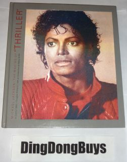 MICHAEL JACKSON THE MAKING OF THRILLER HARDCOVER BOOK By Douglas