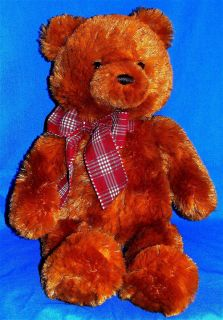 Gund 021025 Downing Small Plush 16H Golden Brown Teddy Bear New Mint