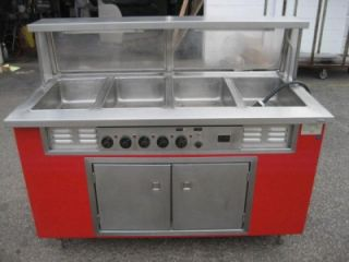 Colorpoint 5E4 CPA Electric Steam Table Hot Food Serving Works Great