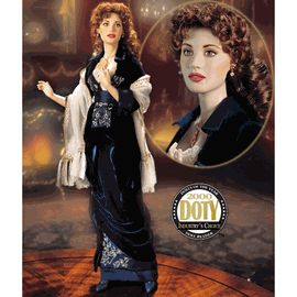 Franklin Mint Rose Titanic Porcelain Doll B11YK92