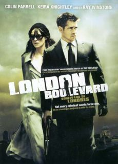 London Boulevard Canadian Release New DVD