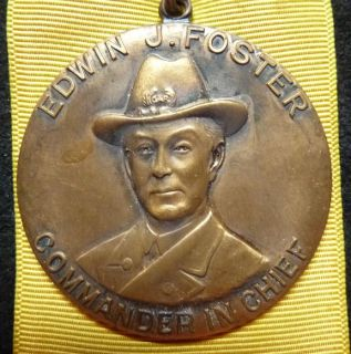 Civil War Gar 64th National Encampment Medal Ohio 1930