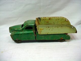 vintage buddy l toy dump truck east moline ill