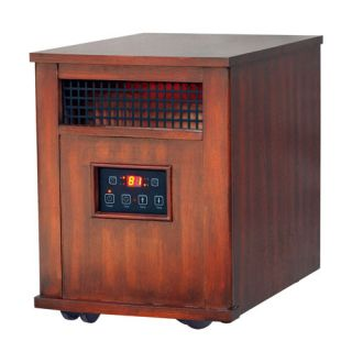 Flametec 0 1500W Electric Fireplaces Infrared quartz heater ND 48