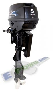 New Parsun 5HP Electric Outboard Motor w Tilt Pontoon Sail Power
