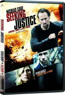 SEEKING JUSTICE (CANADIAN RELEASE) *NEW DVD*****