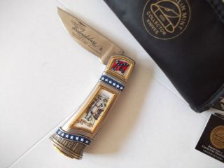 Franklin Mint Robert E Lee Knife with Case